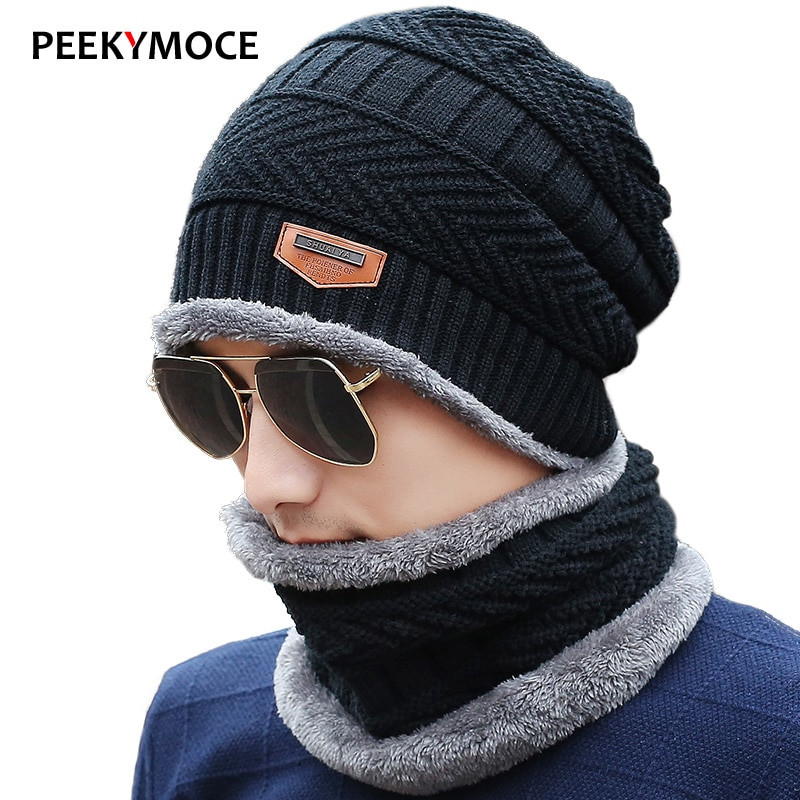 Mens Winter Hats Best Of 2017 New Knitted Winter Hat Scarf Beanies Knit Men S Of Great 48 Images Mens Winter Hats