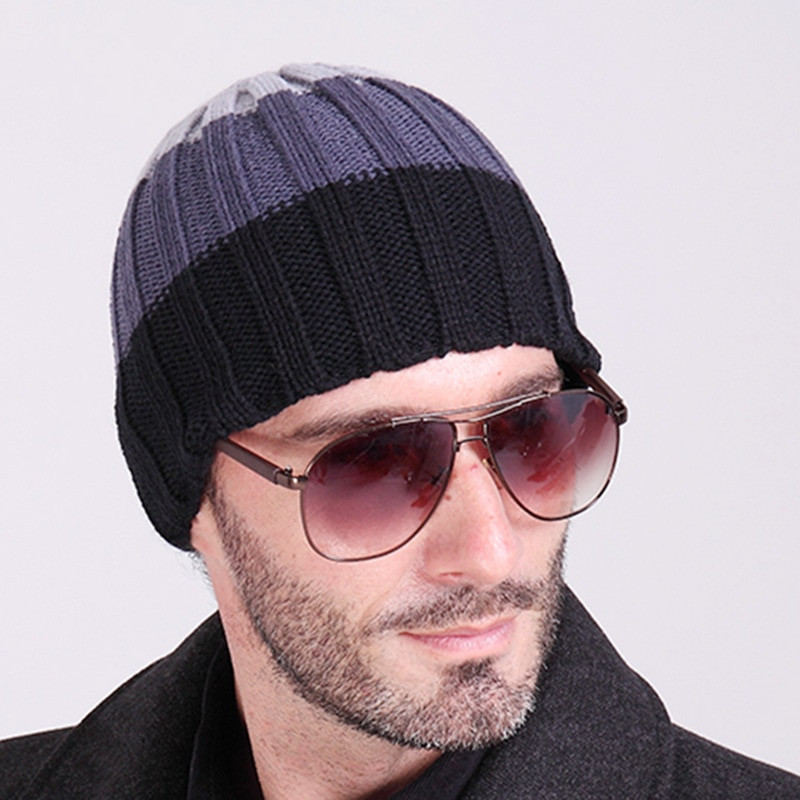 Mens Winter Hats Elegant Brand Gorros 2016 Fashion Winter Hat Men Beanie Knitted Of Great 48 Images Mens Winter Hats