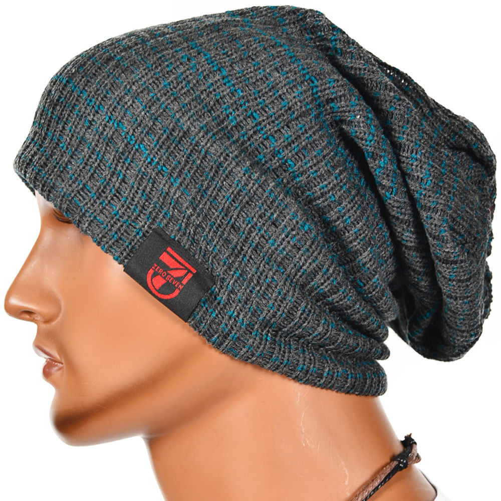 Mens Winter Hats Luxury New Men Slouch Beanie Knit Cap Baggy Oversize Skull Stripe Of Great 48 Images Mens Winter Hats