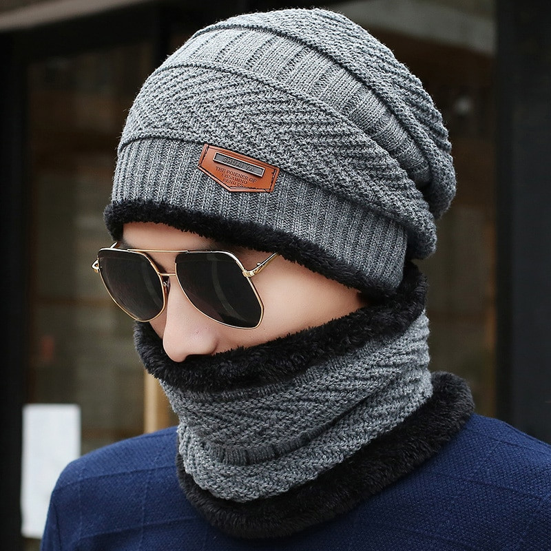 Mens Winter Hats New 2017 New Knitted Winter Hat Scarf Beanies Knit Men S Of Great 48 Images Mens Winter Hats