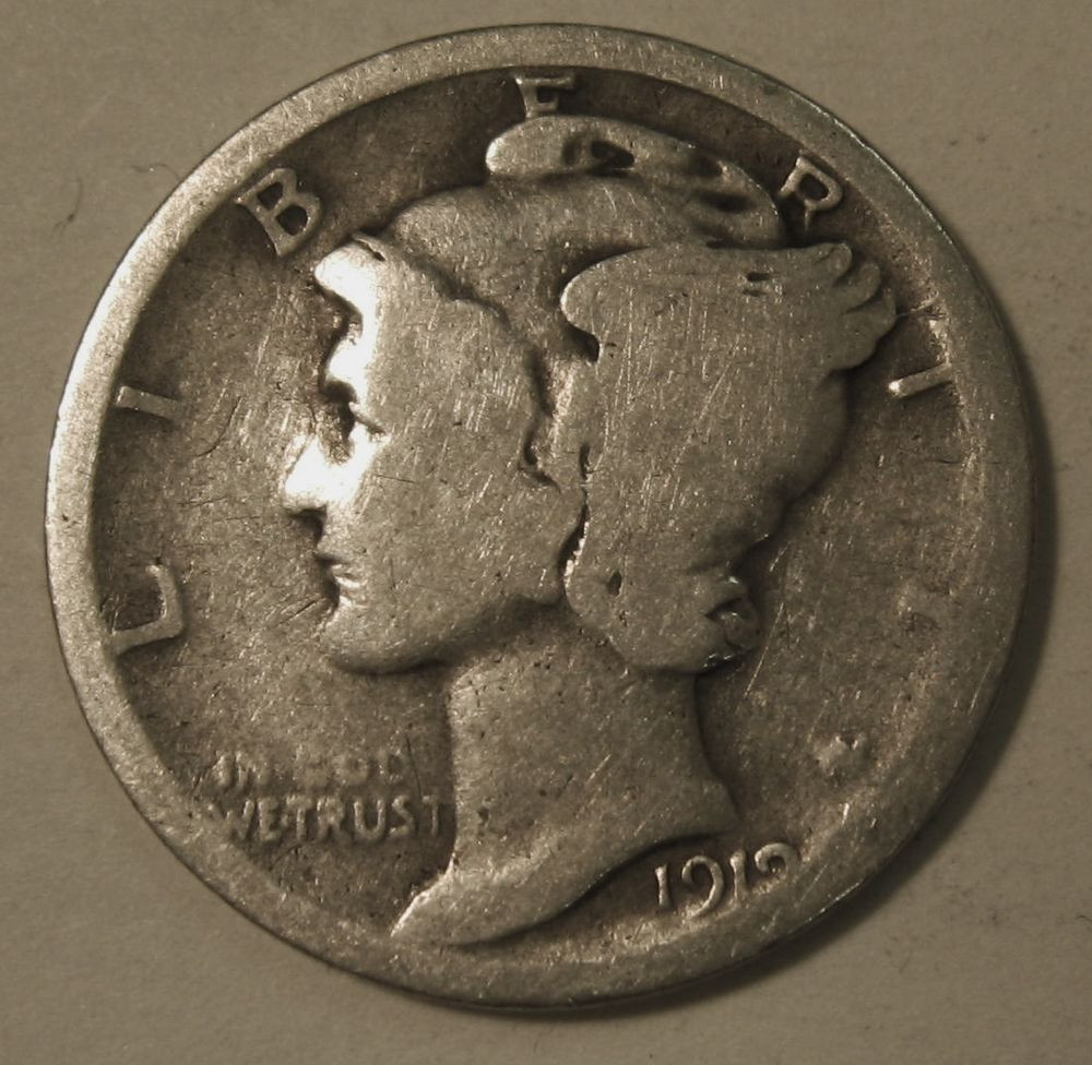 Mercury Head Dime Best Of 1919 Silver Mercury Head Dime In Average Circulated Of Wonderful 34 Pics Mercury Head Dime