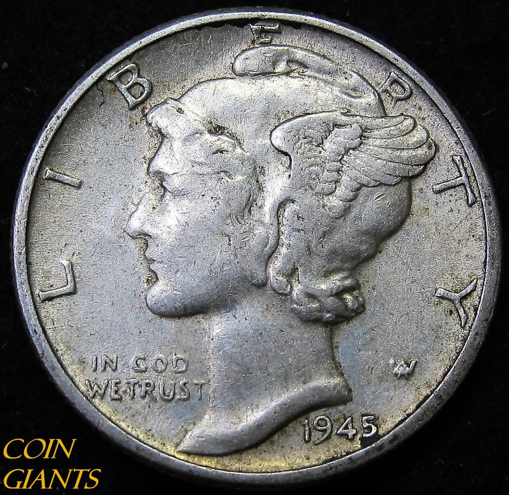 Mercury Head Dime Lovely 1945 P Winged Head Liberty Mercury Dime Au 10c Of Wonderful 34 Pics Mercury Head Dime