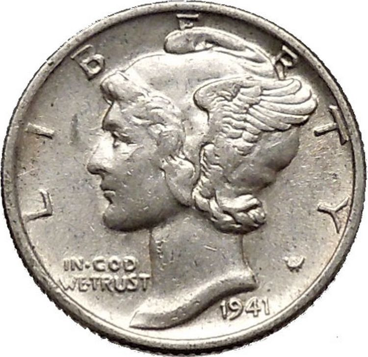 Mercury Head Dime Luxury Mercury Winged Liberty Head 1941 Dime United States Silver Of Wonderful 34 Pics Mercury Head Dime
