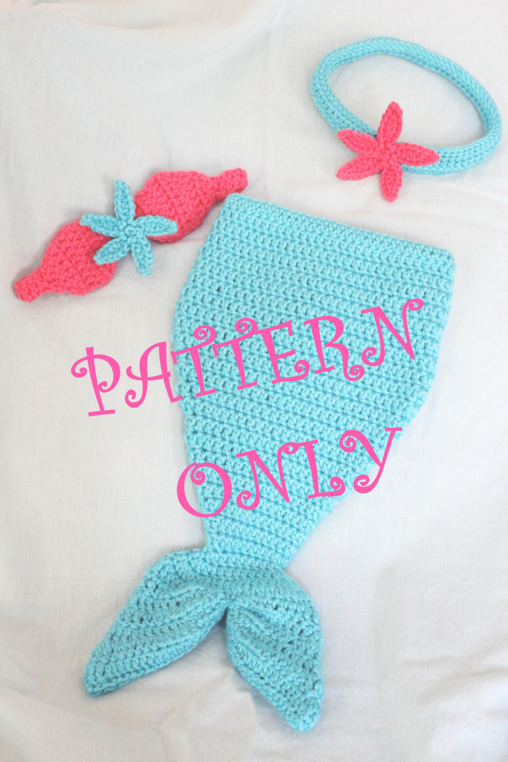 Mermaid Tail Pattern Free Awesome Pattern Crochet Baby Mermaid Tail with Starfish top Of Contemporary 43 Models Mermaid Tail Pattern Free