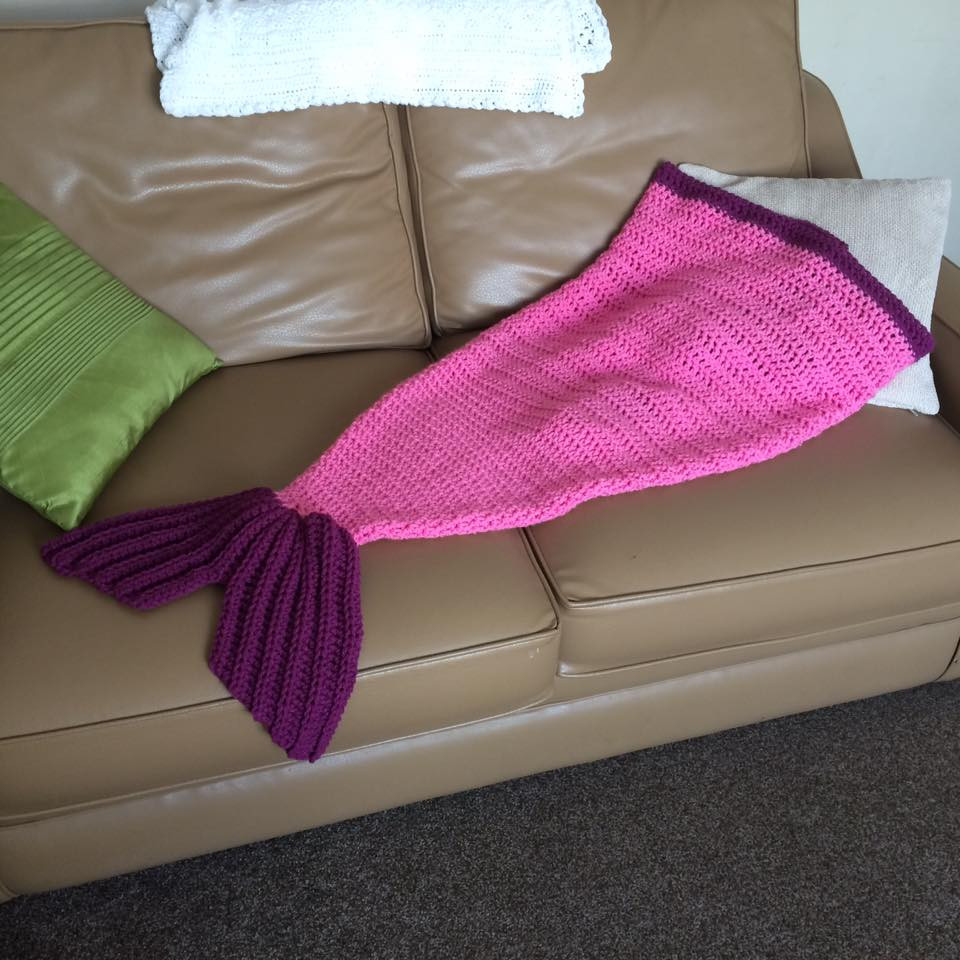 Now not Free Crochet Pattern – Childs Mermaid Tail
