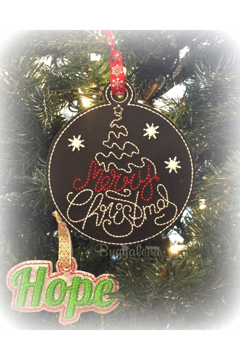 Merry Christmas ornament Best Of Merry Christmas Tree Word ornament Embroidery Design Ith Of Unique 46 Models Merry Christmas ornament