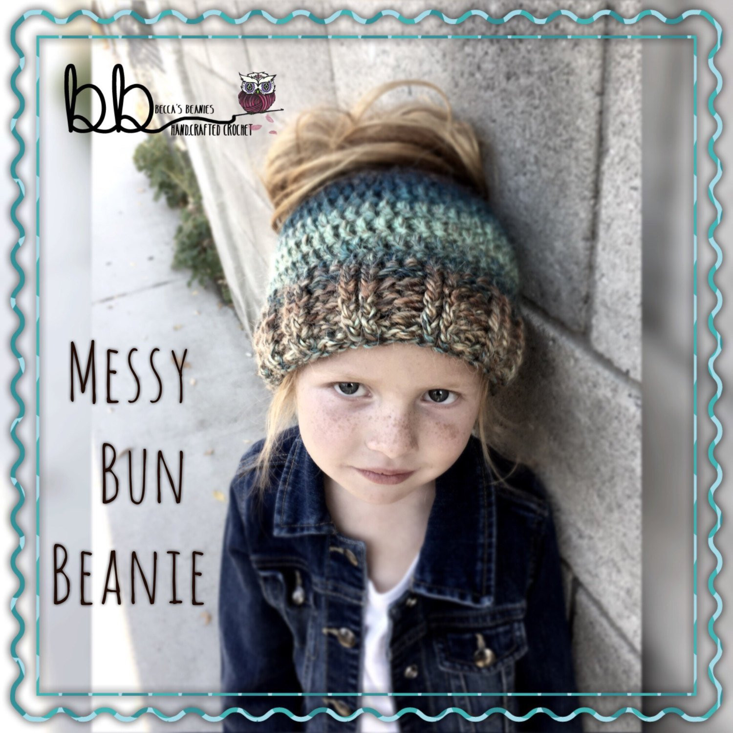 Messy Bun Beanie Best Of Messy Bun Crochet Beanie Made to order toddler Child Of Perfect 45 Photos Messy Bun Beanie