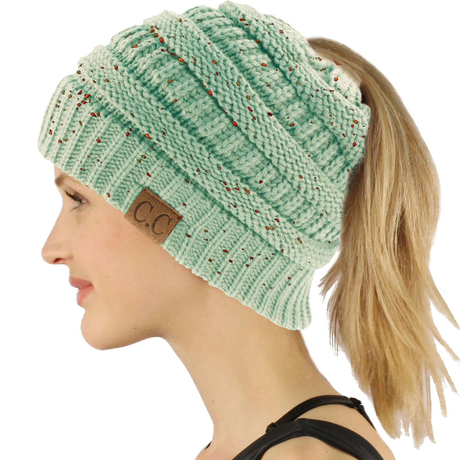 Messy Bun Beanie Hat Best Of Cc Beanietail Messy High Bun Ponytail Stretchy Knit Beanie Of Brilliant 47 Photos Messy Bun Beanie Hat