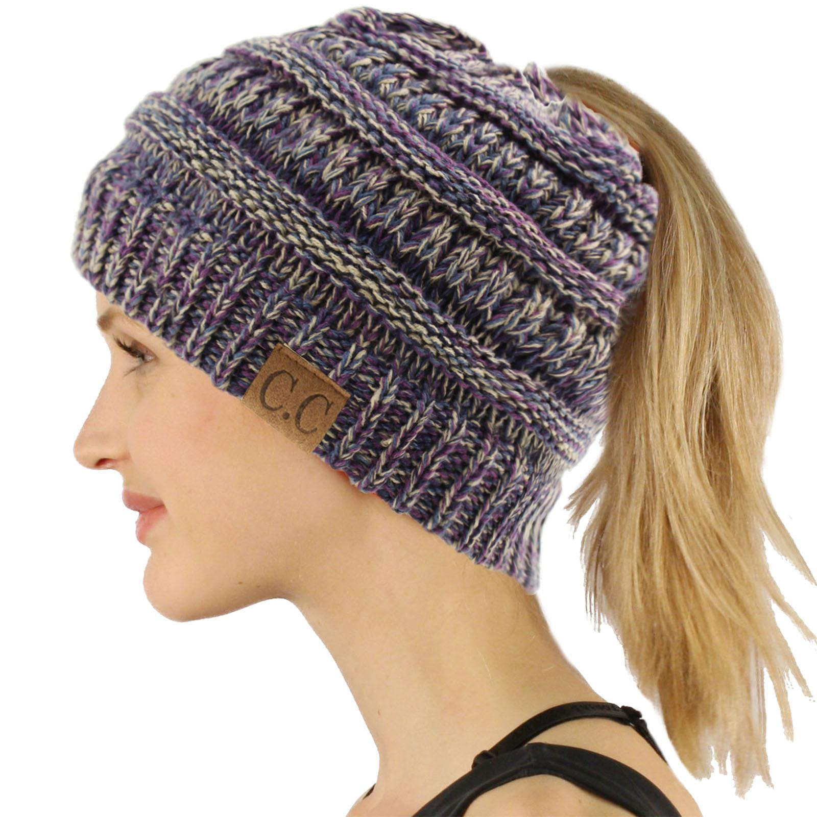 Messy Bun Beanie Hat Elegant Cc Beanietail Messy High Bun Ponytail Stretchy Knit Beanie Of Brilliant 47 Photos Messy Bun Beanie Hat