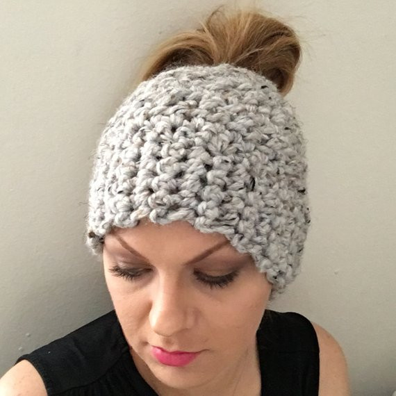 Messy Bun Beanie Hat Elegant Messy Bun Beanie Crochet Bun Hat Chunky Bun Beanie sock Bun Of Brilliant 47 Photos Messy Bun Beanie Hat