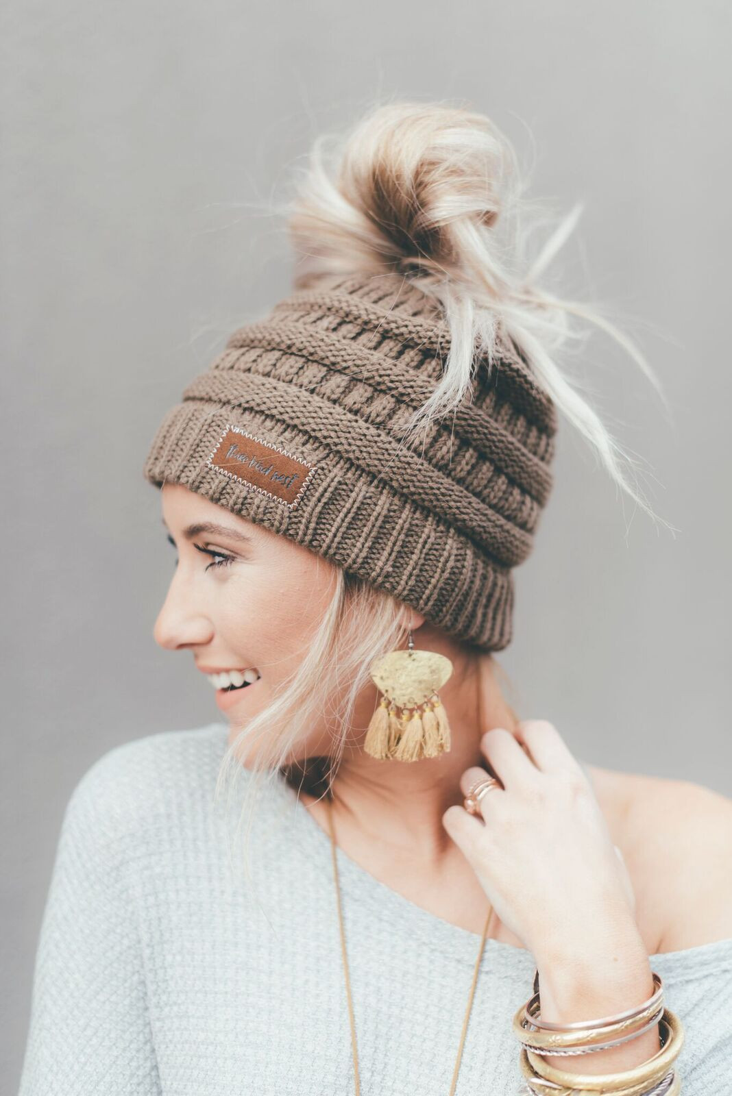 Messy Bun Beanie Hat Fresh Messy Bun Beanie Ponytail Hat Mocha Of Brilliant 47 Photos Messy Bun Beanie Hat