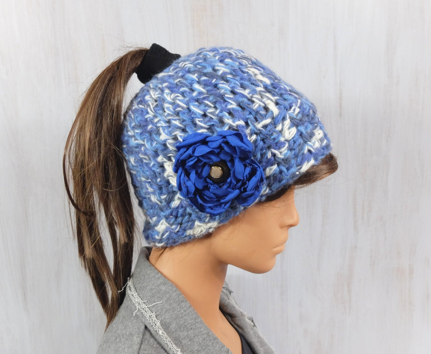Messy Bun Beanie Hat Luxury Messy Bun Beanie Running Hat Crochet Beanie Pony Tail Beanie Of Brilliant 47 Photos Messy Bun Beanie Hat