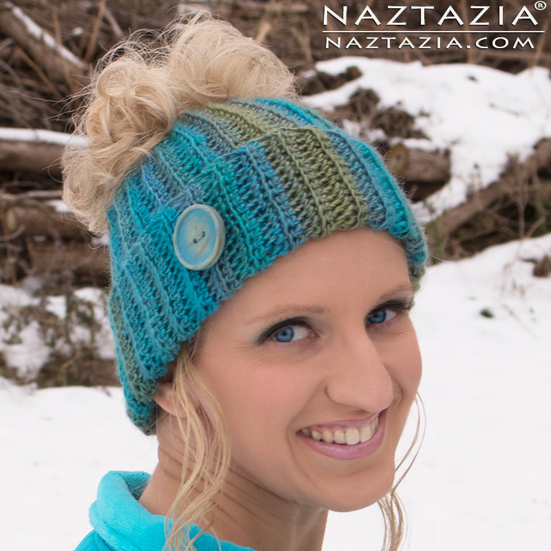 Messy Bun Beanie New Crochet Ribbed Bun Hat by Donna Wolfe From Naztazia Of Perfect 45 Photos Messy Bun Beanie