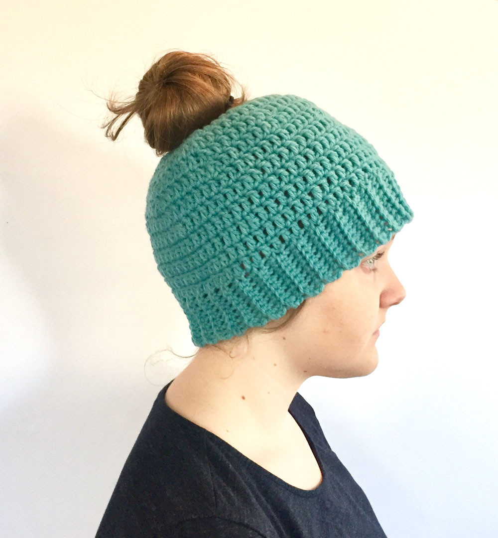 Messy Bun Hat Beautiful Messy Bun Hat Crochet Pattern by Little Monkeys Design Of Awesome 43 Pics Messy Bun Hat