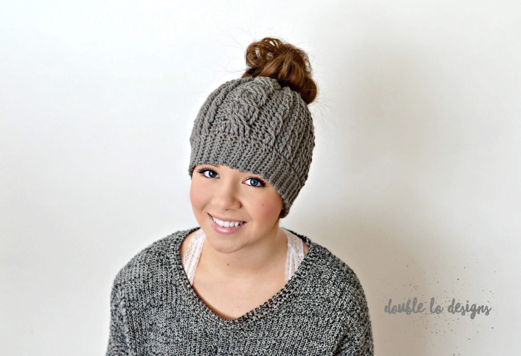 Messy Bun Hat Best Of Free Crochet Pattern Crochet Cabled Messy Bun Hat Adult Of Awesome 43 Pics Messy Bun Hat