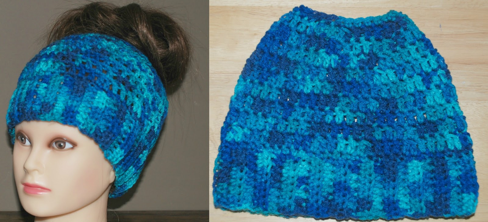 Messy Bun Hat Crochet Pattern Beautiful Amy S Crochet Creative Creations Crochet Messy Bun Hat Of Amazing 47 Images Messy Bun Hat Crochet Pattern