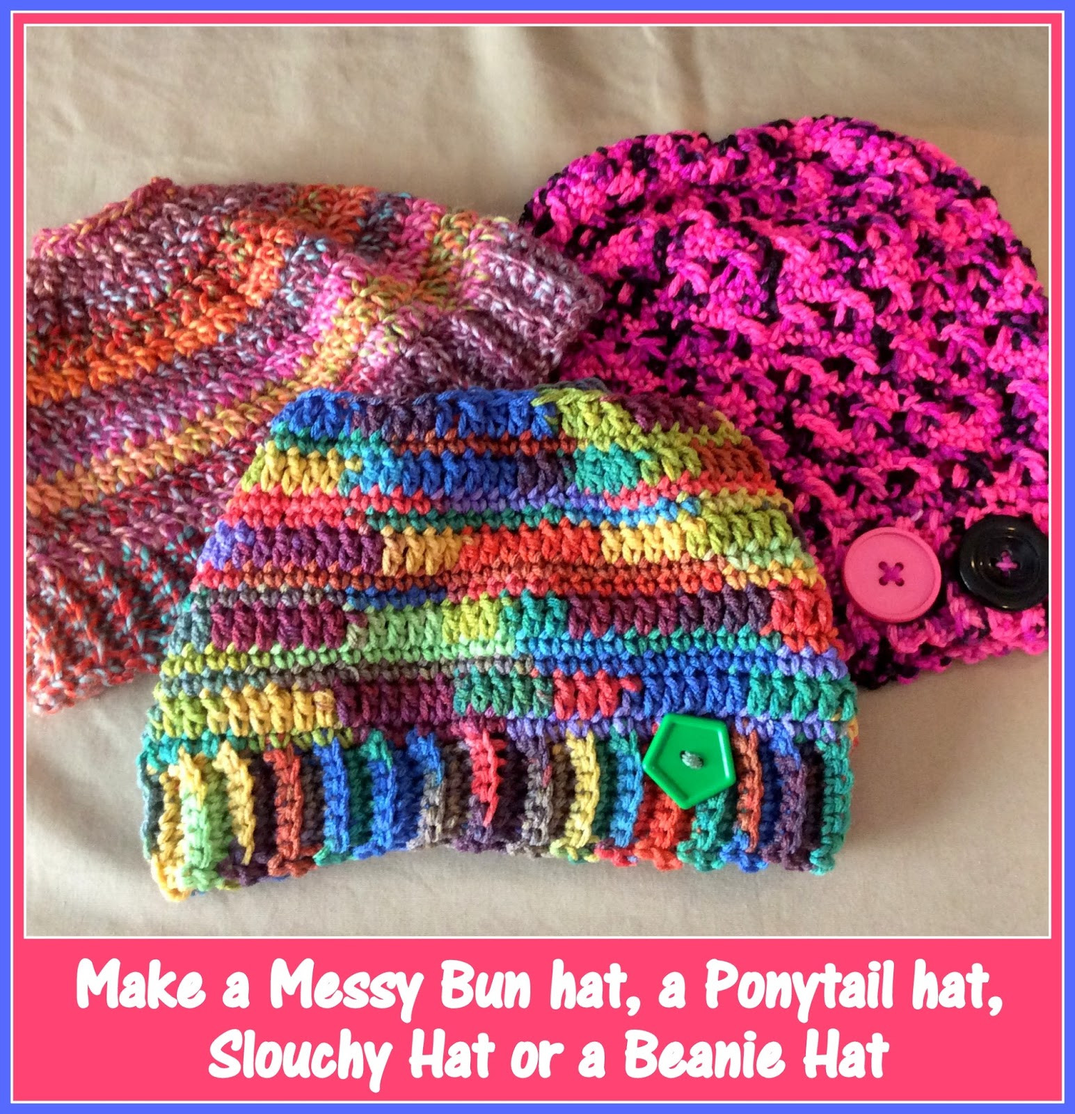 Messy Bun Hat Crochet Pattern Elegant 23 Free Messy Bun Hat Crochet Patterns Make A Ponytail Of Amazing 47 Images Messy Bun Hat Crochet Pattern