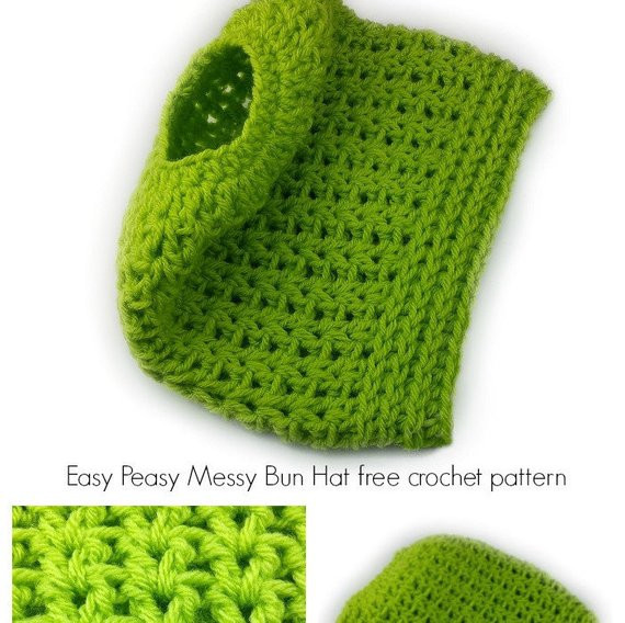 Messy Bun Hat Crochet Pattern Inspirational Crochet Hat Pattern Easy Peasy Messy Bun Hat Crochet Pattern Of Amazing 47 Images Messy Bun Hat Crochet Pattern