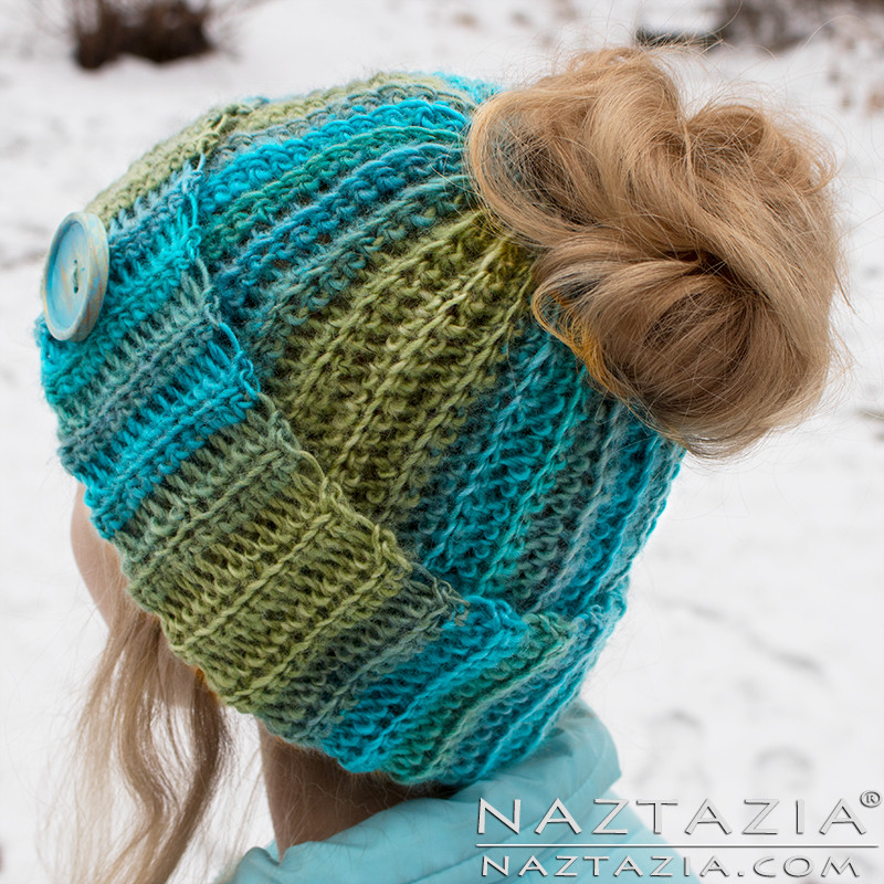 Messy Bun Hat Crochet Pattern Inspirational Crochet Ribbed Bun Hat by Donna Wolfe From Naztazia Of Amazing 47 Images Messy Bun Hat Crochet Pattern