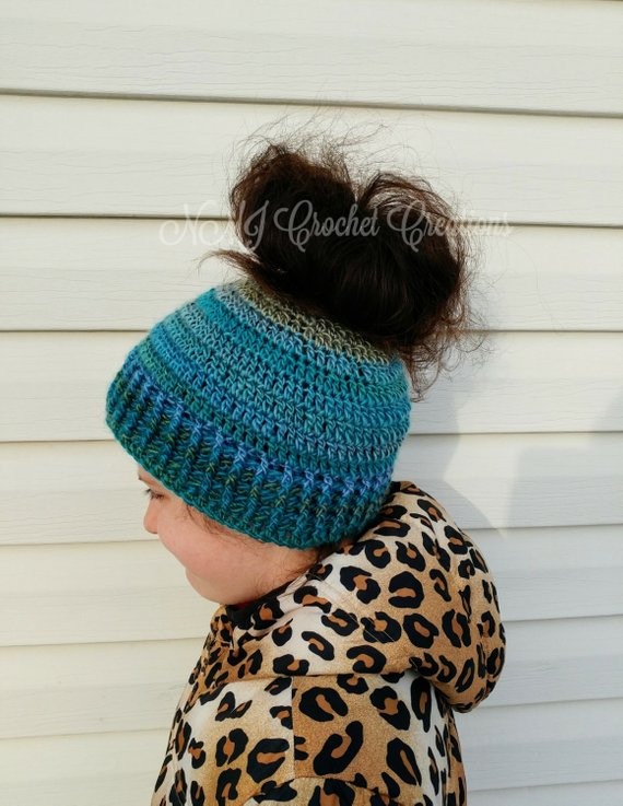 Messy Bun Hat Elegant Crochet Messy Bun Hat Wmperm for Of Awesome 43 Pics Messy Bun Hat
