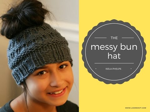 The Messy Bun Hat Video