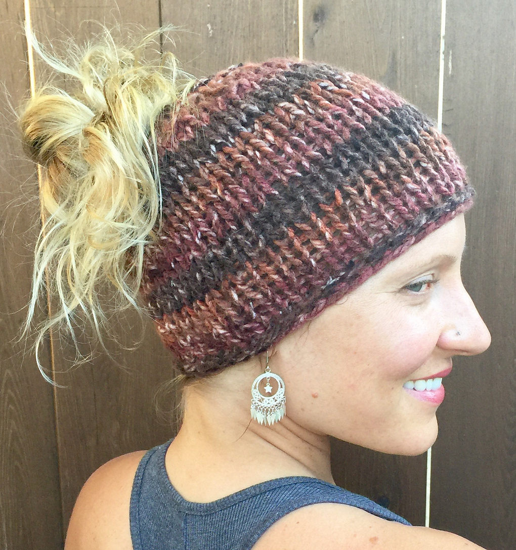 Messy Bun Hat Fresh Hats Knit Flat Knitting Patterns Of Awesome 43 Pics Messy Bun Hat