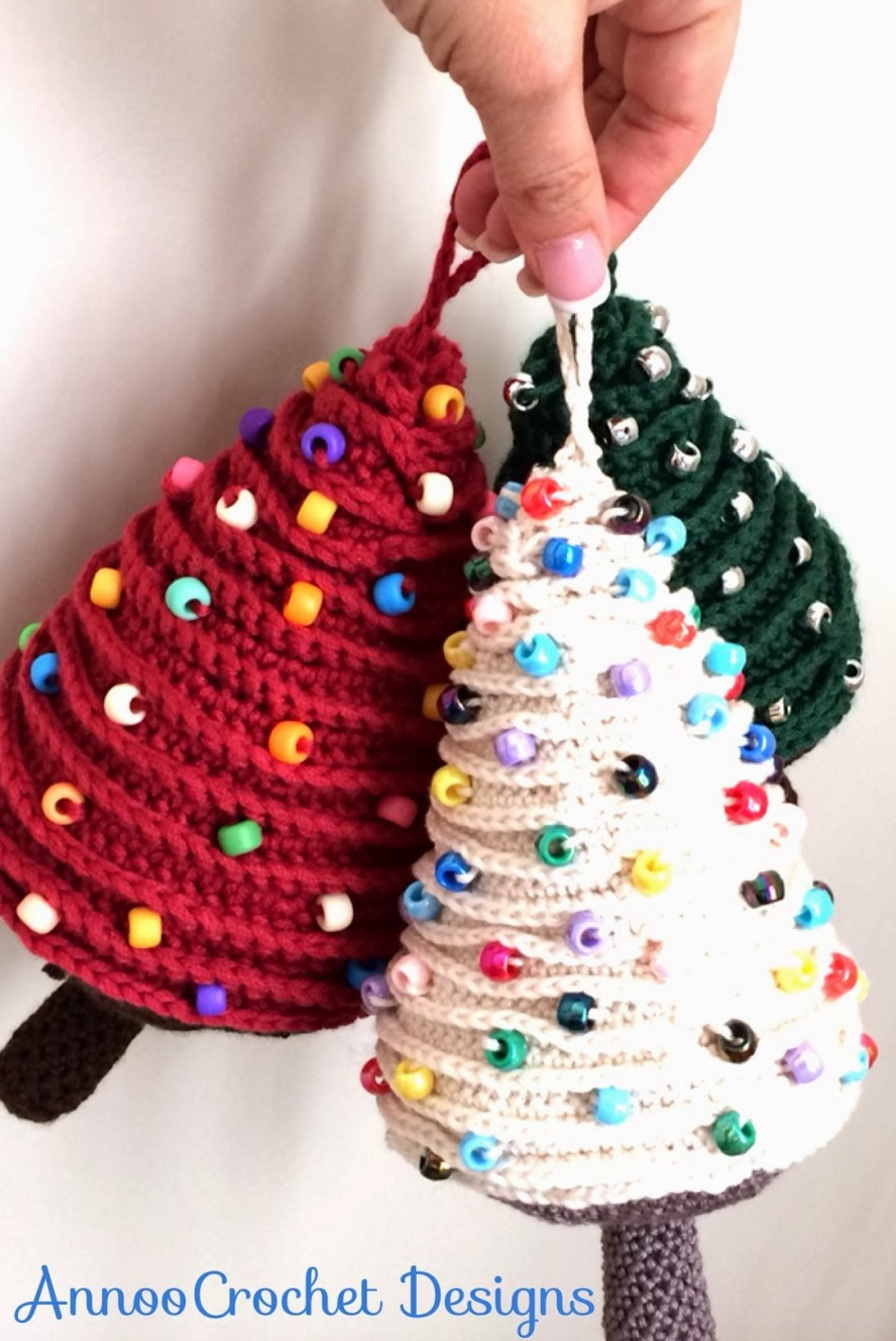 Mini Christmas ornaments Best Of Crochet Christmas Trees Of Amazing 45 Pictures Mini Christmas ornaments