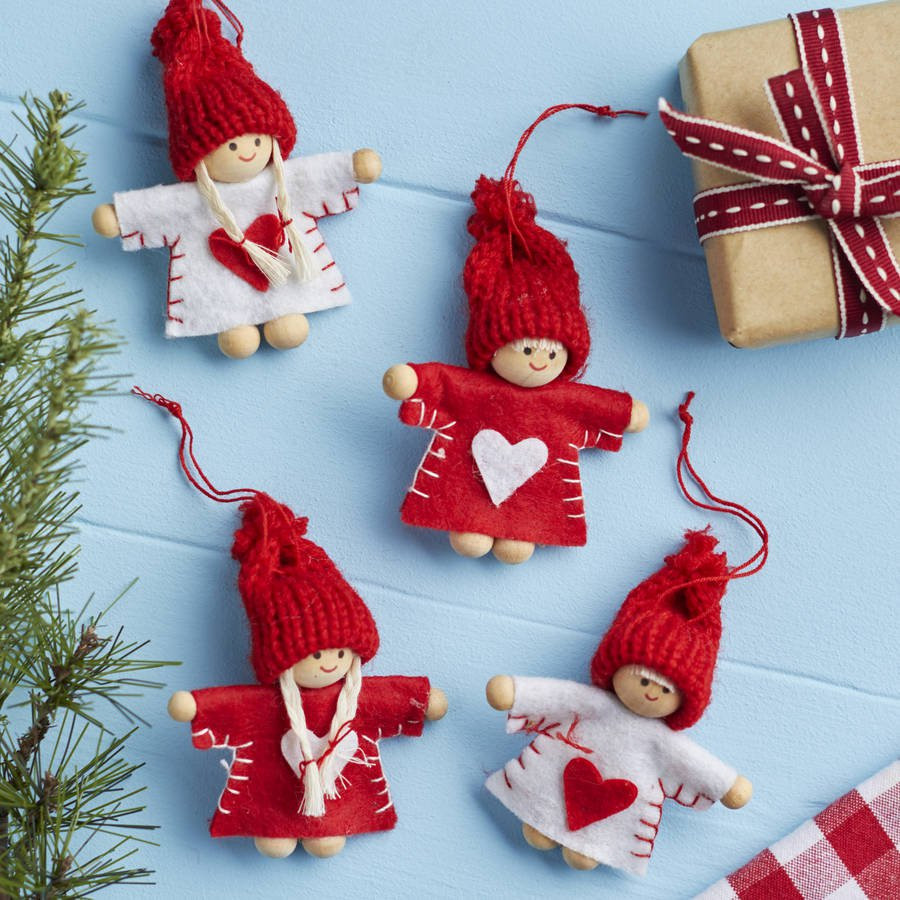 Mini Christmas Tree Decorations Awesome Red and White Mini Christmas Tree Decoration by the Of Luxury 50 Pictures Mini Christmas Tree Decorations