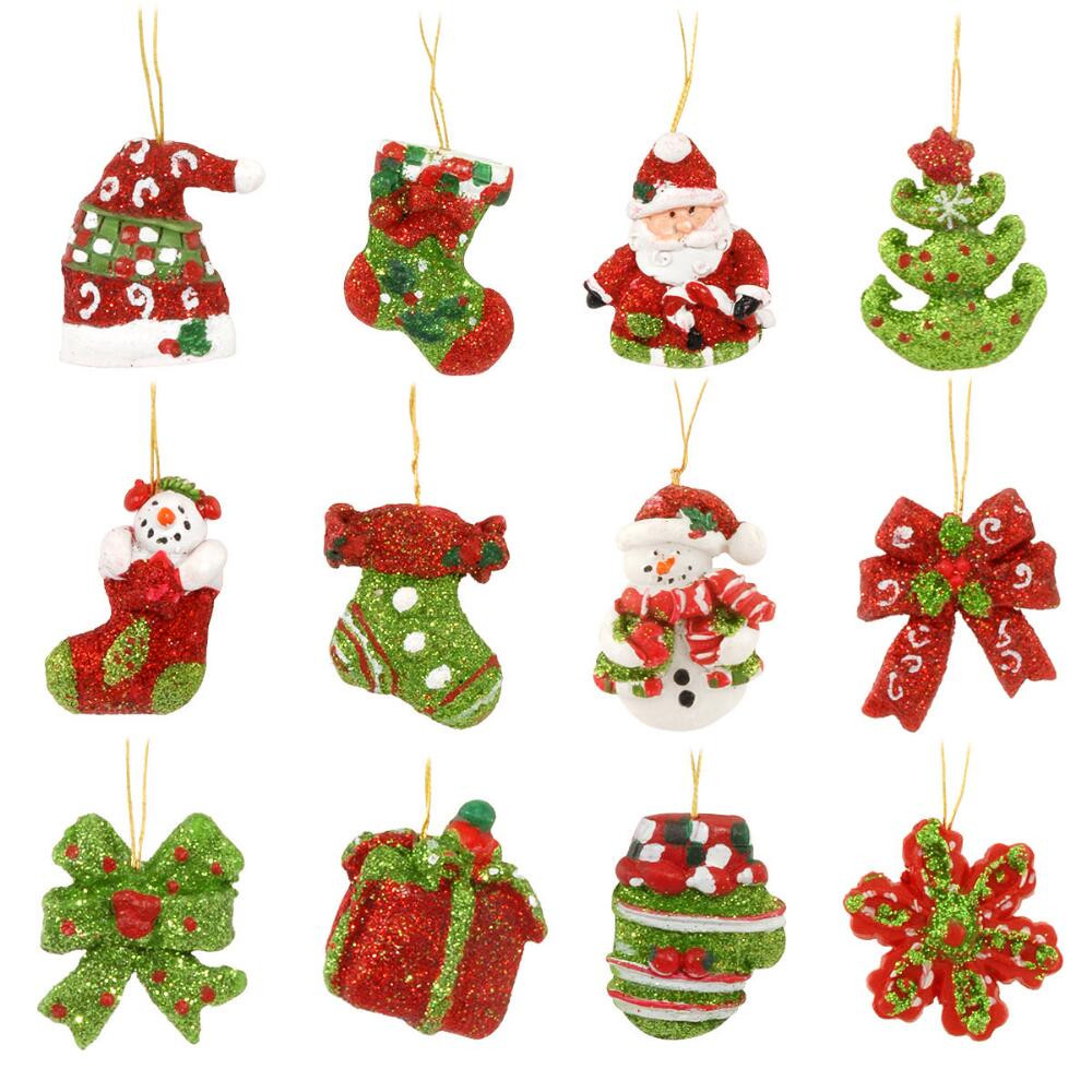 Mini Christmas Tree Decorations Lovely Set 12 Miniature Resin ornaments Of Luxury 50 Pictures Mini Christmas Tree Decorations