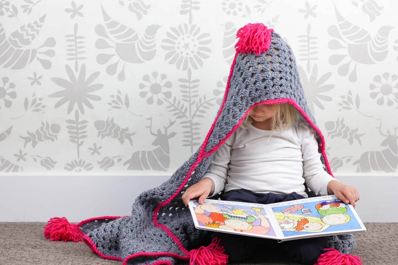 Modern Crochet Patterns Inspirational Modern Crochet Hooded Baby Blanket Free Pattern for Charity Of Adorable 44 Pictures Modern Crochet Patterns
