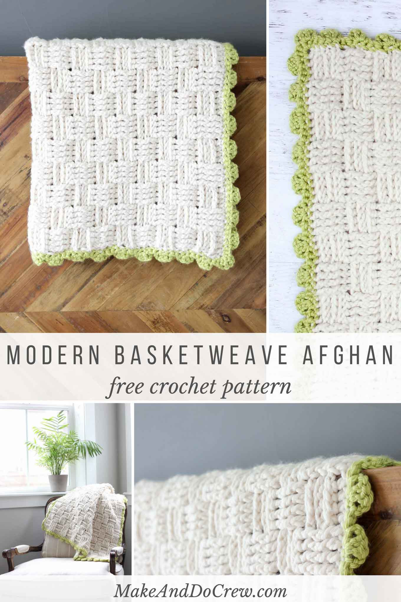 Modern Crochet Patterns New Modern Crochet Basket Weave Blanket Free Pattern Of Adorable 44 Pictures Modern Crochet Patterns