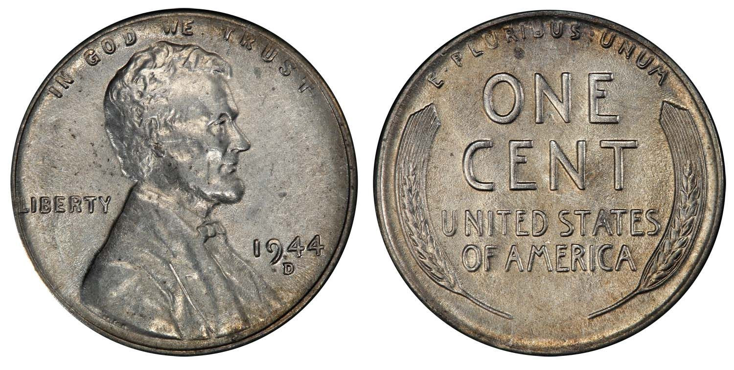 Most Valuable Pennies Unique 1944 D Steel Cent Pcgs Au55 Cac One Of the Rarest Of All Of Incredible 50 Ideas Most Valuable Pennies