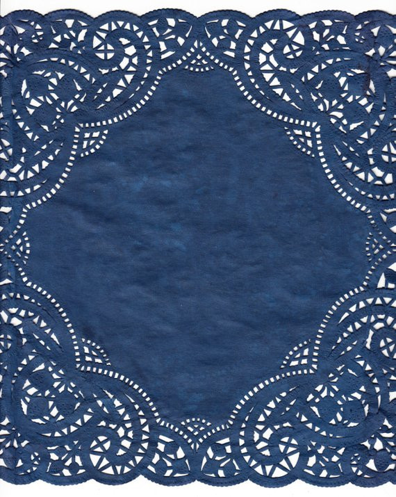 "Items similar to Navy Blue 10"" Square Hand Dyed Colored"