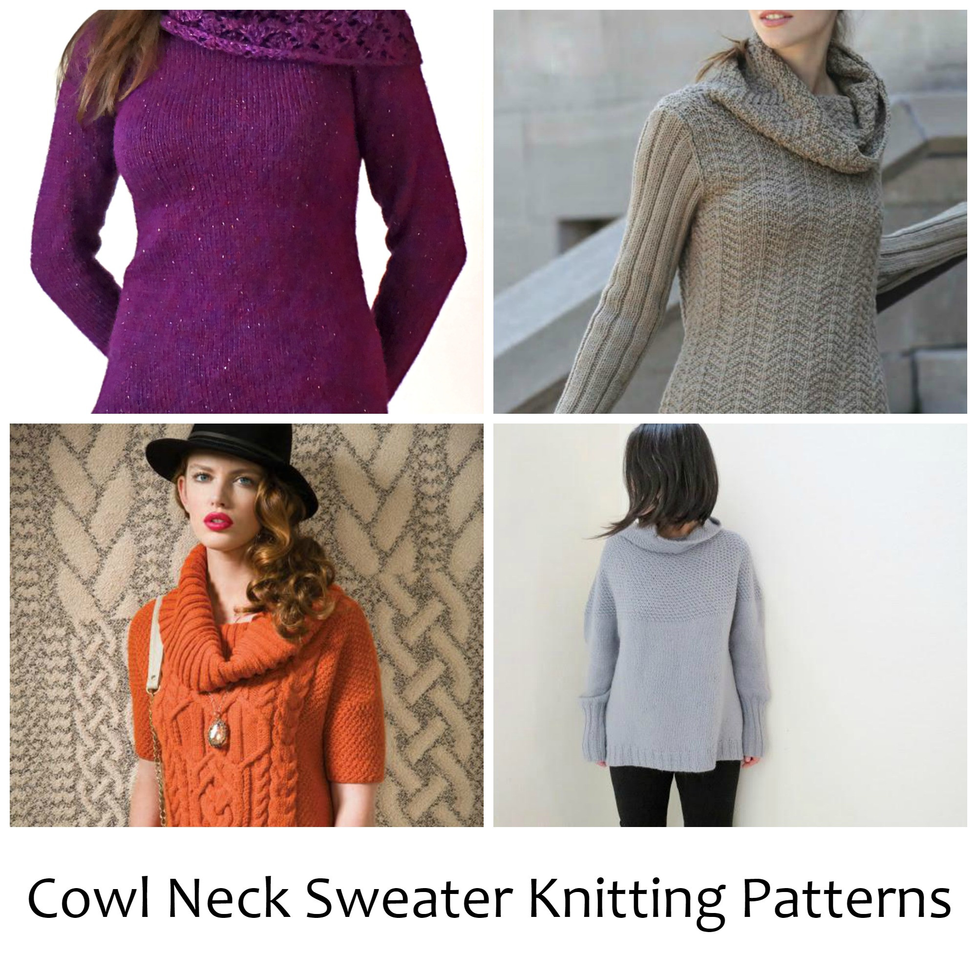New 10 Cozy Cowl Neck Sweater Knitting Patterns Cowl Neck Knit Sweater Of Top 42 Pictures Cowl Neck Knit Sweater