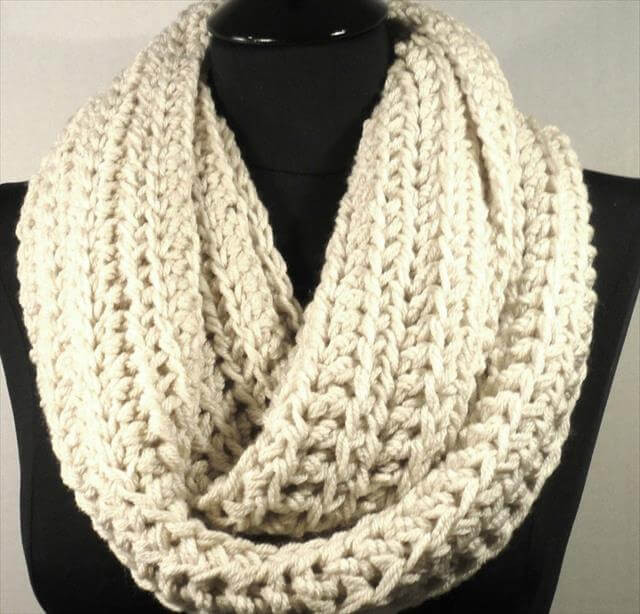 New 10 Crochet Infinity Scarf Patterns – 101 Crochet Infinity Cowl Crochet Pattern Of Awesome 49 Pics Infinity Cowl Crochet Pattern