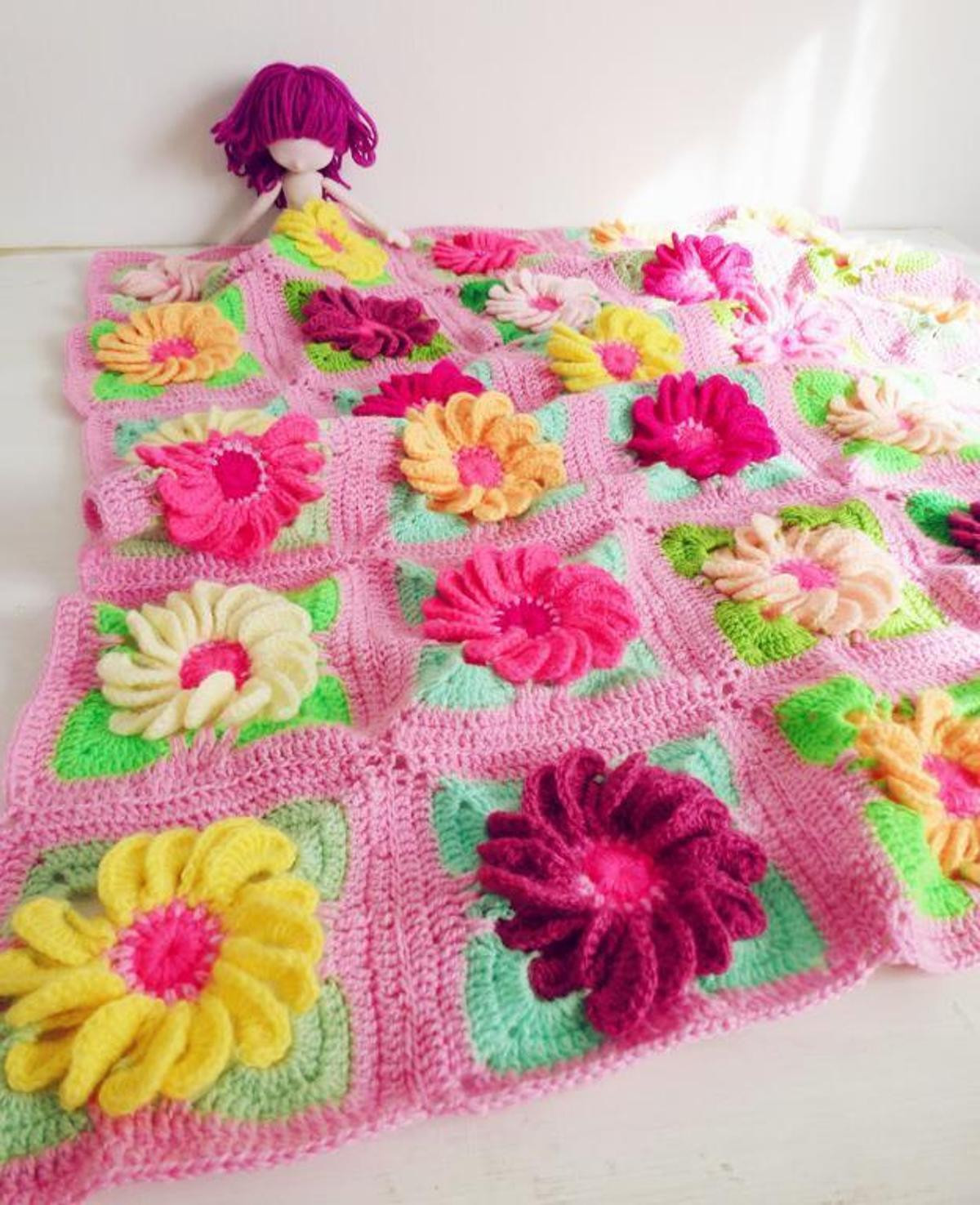 New 10 Flower Granny Square Crochet Patterns to Stitch Granny Square Baby Blanket Pattern Of Innovative 45 Images Granny Square Baby Blanket Pattern