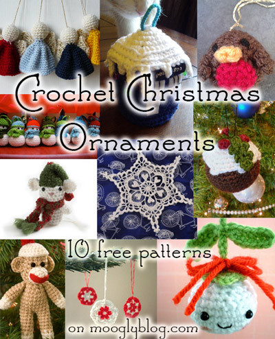 New 10 Free Crochet Christmas ornament Patterns Crochet Christmas Decorations Of Perfect 50 Ideas Crochet Christmas Decorations