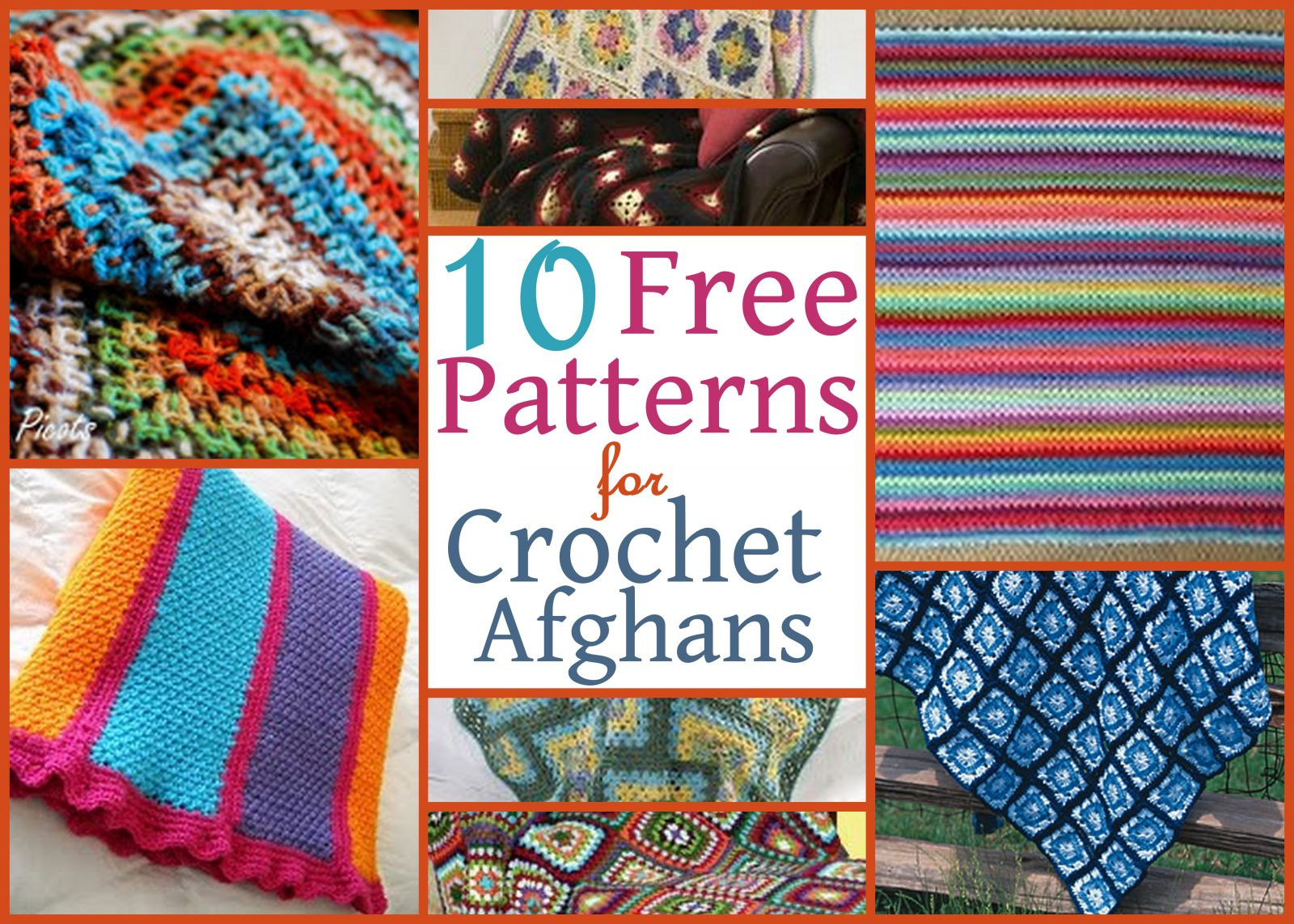 New 10 Free Patterns for Crochet Afghans All Free Crochet Afghan Patterns Of New 48 Pics All Free Crochet Afghan Patterns