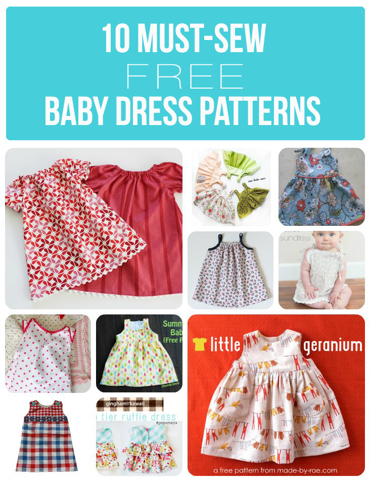 New 10 Must Sew Free Baby Dress Patterns Sew Much Ado Free Baby Dress Patterns Of Wonderful 45 Pictures Free Baby Dress Patterns