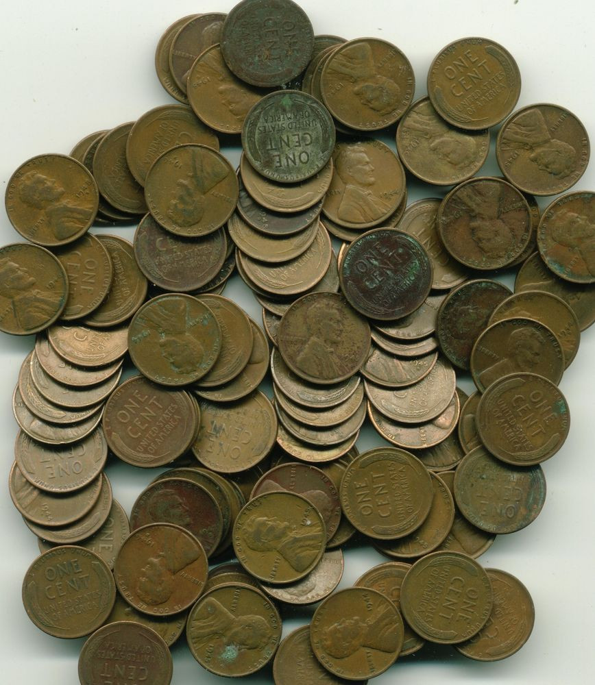 New 10 Rolls Lincoln Wheat Cents Circulated Wheat Penny Rolls Of Awesome 43 Photos Wheat Penny Rolls