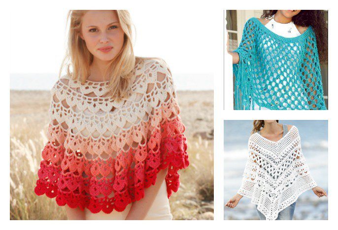 New 10 Summer Poncho Free Crochet Patterns Page 2 Of 2 Cool Ponchos Of Luxury 46 Pics Cool Ponchos