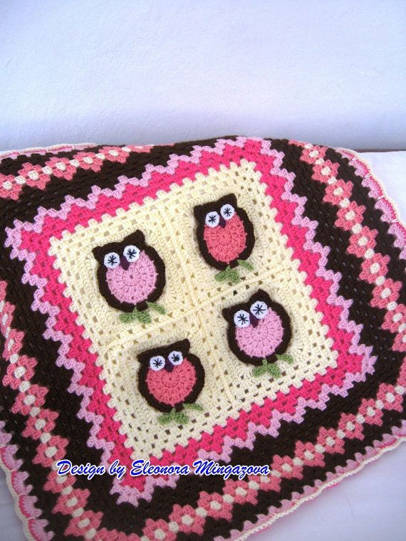 New 1000 Images About Crochet Owls Blanket Hats Bibs Ect for Crochet Owl Baby Blanket Of Brilliant 48 Ideas Crochet Owl Baby Blanket