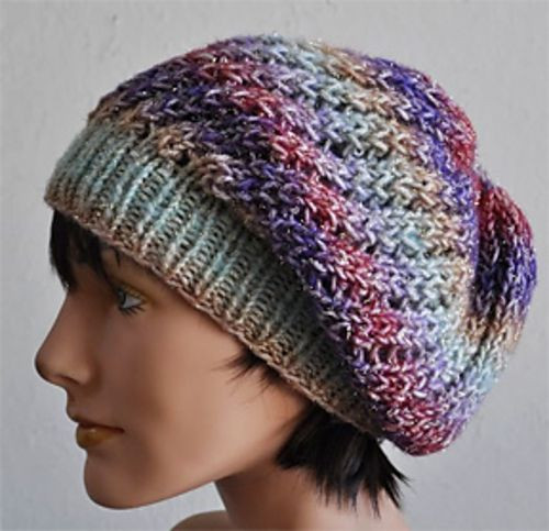 New 1000 Images About Knit Hats and Head Bands On Pinterest Slouchy Hat Knit Pattern Of Superb 45 Ideas Slouchy Hat Knit Pattern