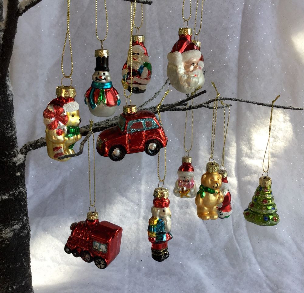 New 12 Vintage Style Glass Christmas Tree Decorations Retro Glass Christmas Decorations Of Superb 44 Pics Glass Christmas Decorations