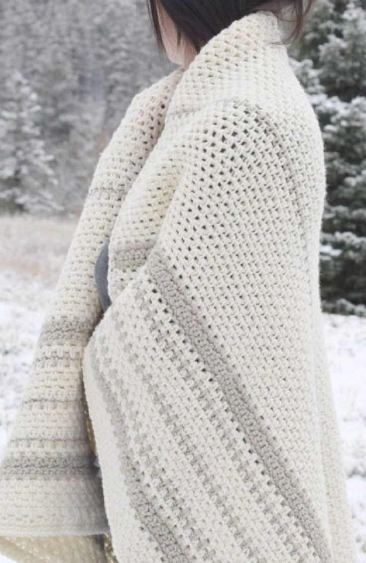 New 1453 Best Images About Crochet Afghans On Pinterest Modern Crochet Blanket Of Perfect 45 Photos Modern Crochet Blanket