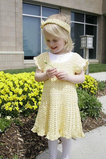 New 15 Beautiful Free Crochet Patterns for Girls' Dresses Crochet Girl Dress Of Awesome 46 Images Crochet Girl Dress
