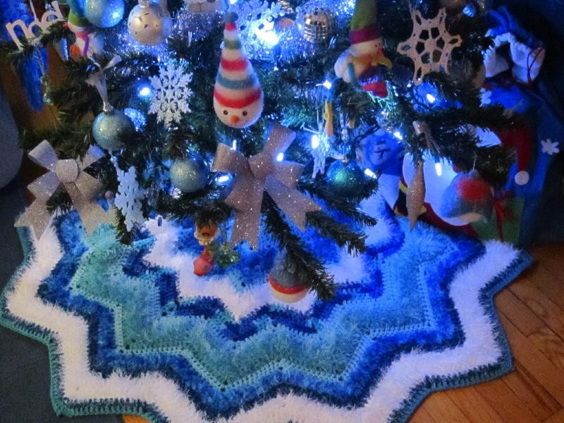 New 15 Creative Patterns for Crochet Skirts Patterns Hub Crochet Tree Skirt Of Innovative 45 Ideas Crochet Tree Skirt
