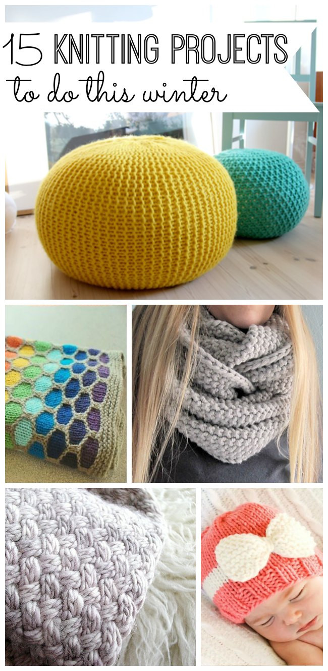New 15 Knitting Projects to Do This Winter My Life and Kids Knitting Crafts Of New 44 Models Knitting Crafts