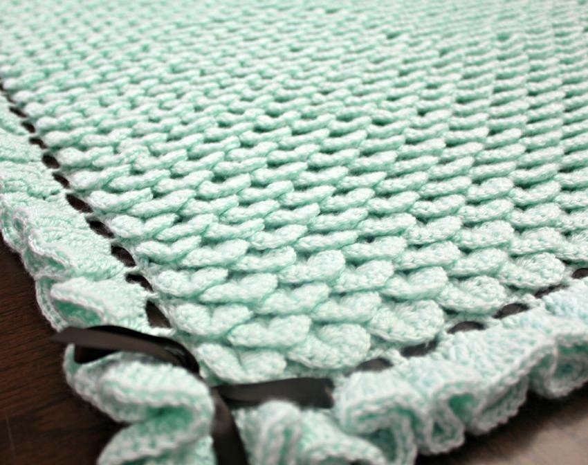 New 15 Patterns for Oh so Cute Crocheted Baby Blankets Crochet Baby Blanket Tutorial Of Top 46 Pics Crochet Baby Blanket Tutorial