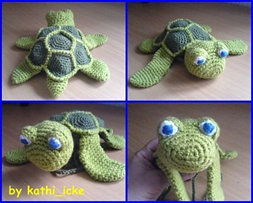 17 Best images about amigurumi turtle on Pinterest